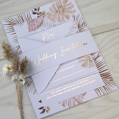 Quinn Boho Wedding Invitation
