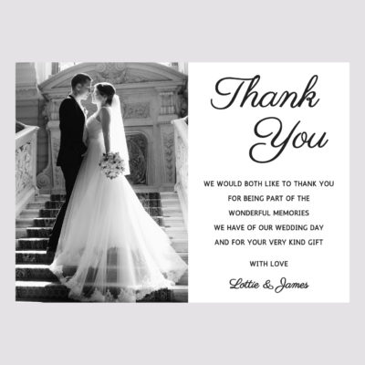 Photo Thank you Card 004