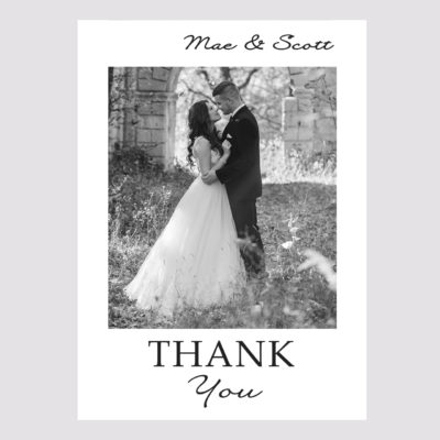 Photo Thank you Card 009