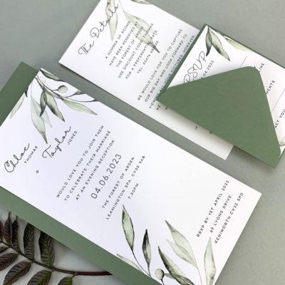 Chloe Evening Wedding Invitation