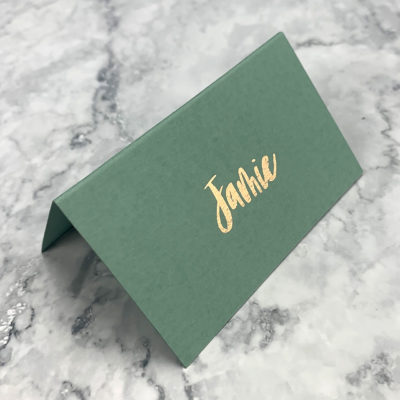Jamie Place Card